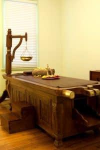 Ayurveda Massage Room at the Ayurvedic Wellness Centre