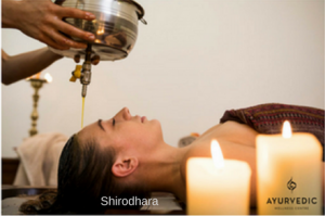 Shirodhara treatment at ayurvedicwellnesscentre Bondi Sydney