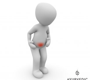 Stomach pain can be caused by ulcers but can be treated with Ayurveda